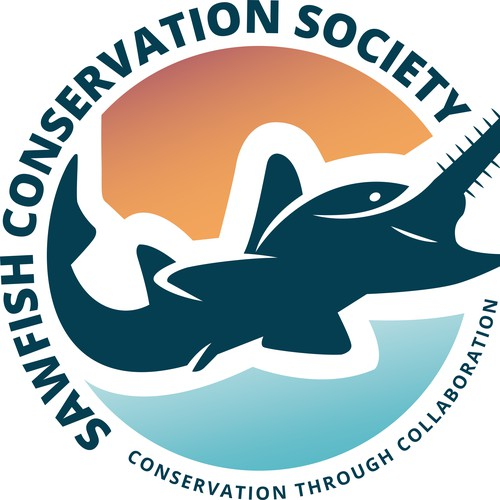 Society logo with the title 'Logo for SAWFISH CONSERVATION SOCIETY'