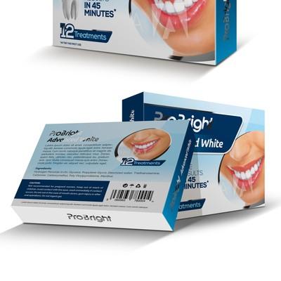 ProBright Teeth Whitening Kit Box Design