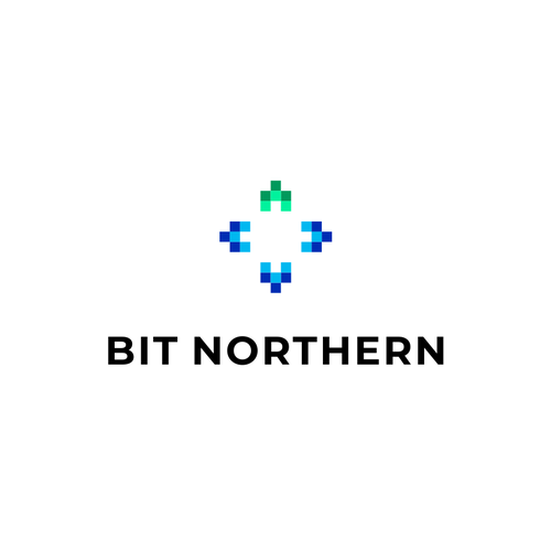 North logo with the title 'Bit Northern'