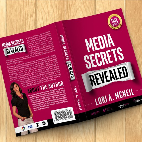 Guide book cover with the title 'Media Secrets Revealed'