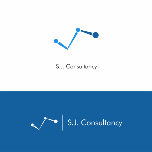 Flowchart design with the title 'S.J Consultancy'