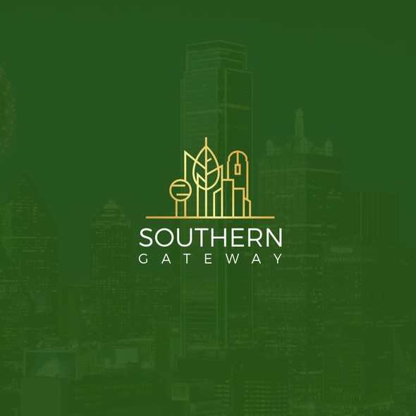 Dallas design with the title 'Southern gateway'
