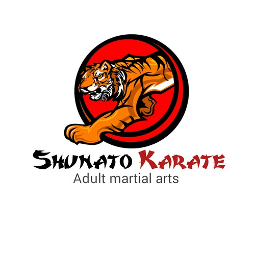 Karate logo with the title 'Shuntato karate'