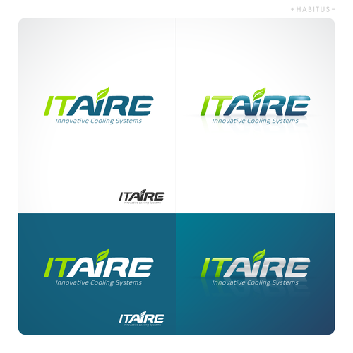 Innovative design with the title 'Logo design'