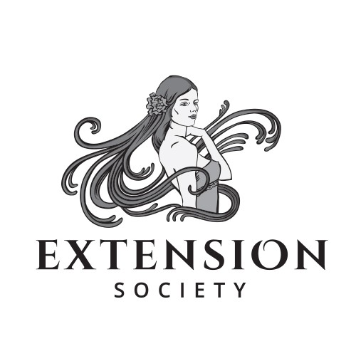 Stylist logo with the title 'Extension Society'