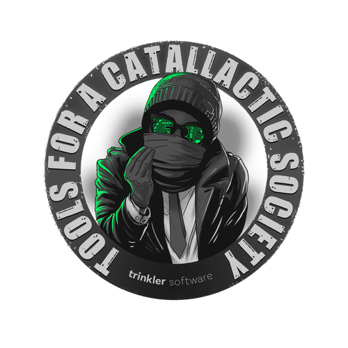 Technology t-shirt with the title 'catallactic'