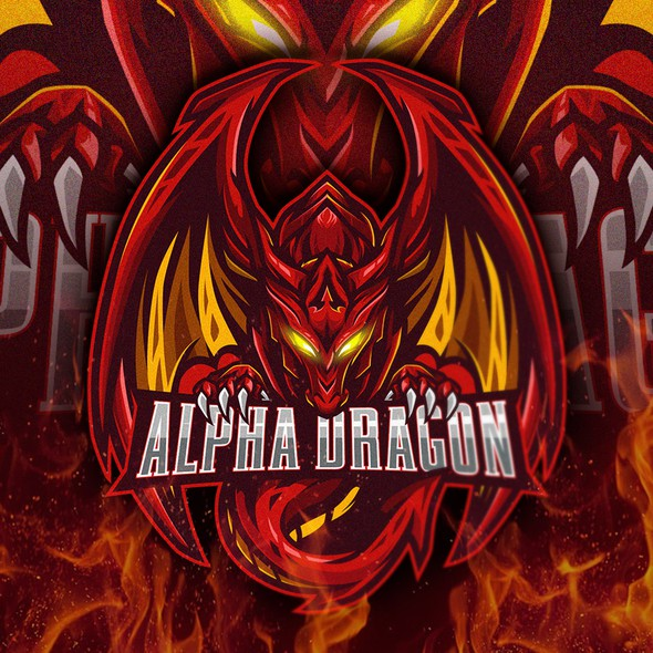 Alpha logo with the title 'Alpha Dragon Gaming'