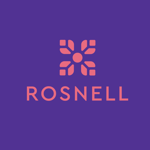 Feminine design with the title 'ROSNELL'