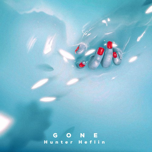 Brand artwork with the title 'gone'
