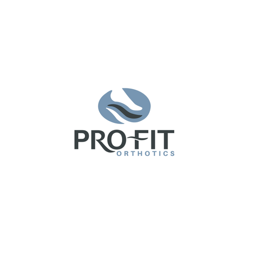 Feet design with the title 'Pro Fit Orthotics'