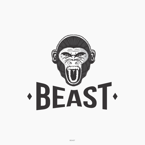 Angry design with the title 'Logo concept for Beast Safety Product'