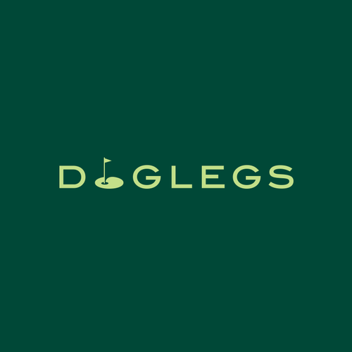 Golf club logo with the title 'DogLegs'