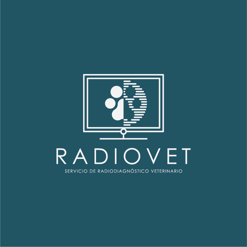 Radiology logo with the title 'RADIOVET'