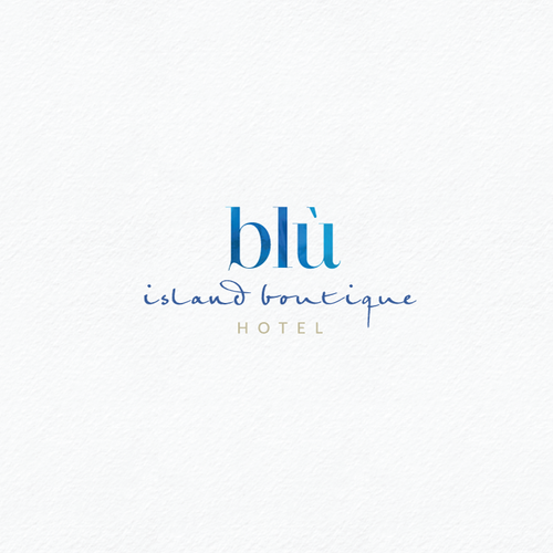 Tourism logo with the title 'Logo for a island boutique hotel in the Mediterranean'