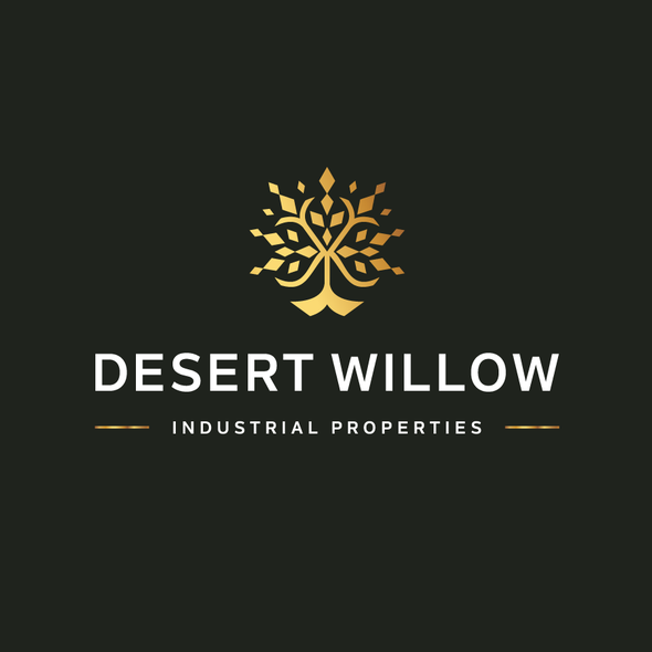 Professional logo with the title 'Desert Willow'