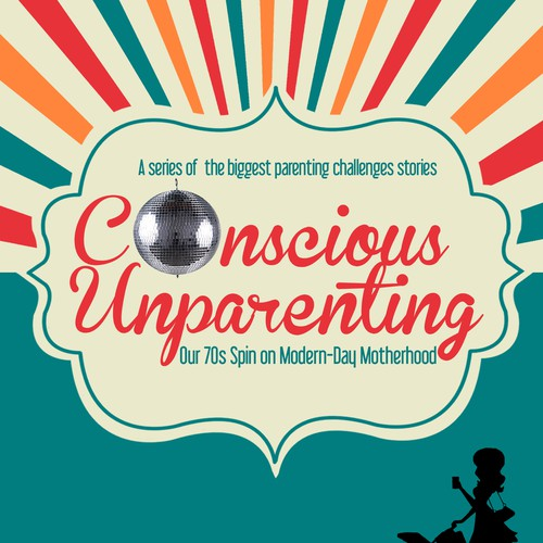 Parenting book cover with the title 'Design a cover for a book that has the potential to start a parenting movement!'