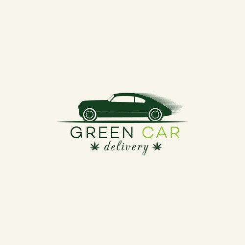 Classic car logo with the title 'Logo design for delivery service'