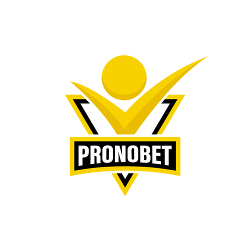 Betting logo with the title 'Pronobet'