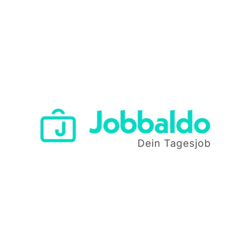Career logo with the title 'Logo Concept | Jobbaldo'