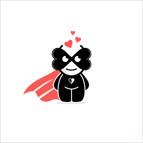 Super design with the title 'Lovely character design'
