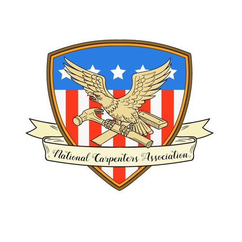 American eagle logo with the title 'National Carpenters Association'