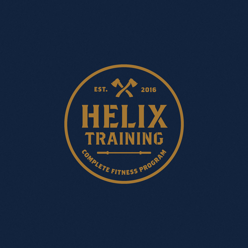Helix design with the title 'Helix Training'