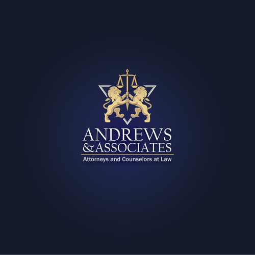 Pride design with the title 'Logo for Andrews & Associ'