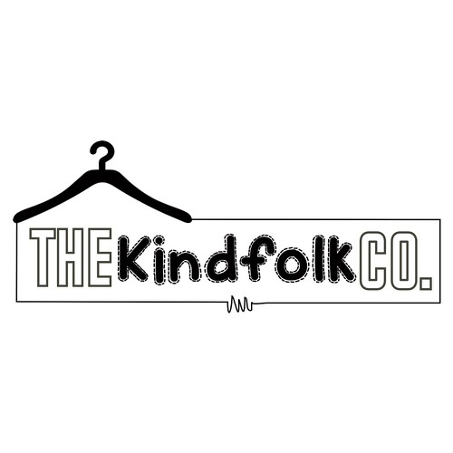 Kindness logo with the title 'concept for The kindfolk co.'