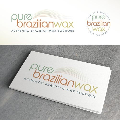 Brazilian design with the title 'wax boutique'