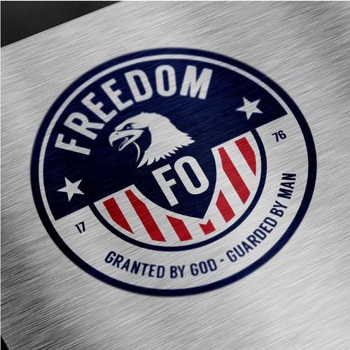 鹰标志与标题'美国'