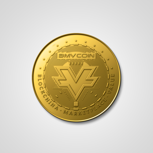 Coin logo with the title 'ICO crypro coin '