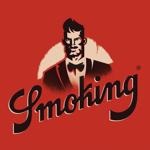Fancy design with the title 'Mr.SMOKING'