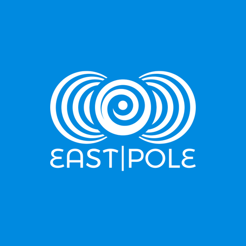 Field logo with the title 'East Pole Minimalistic Logo'