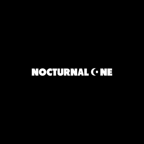 Number 1 logo with the title 'NOCTURNAL ONE logo design'