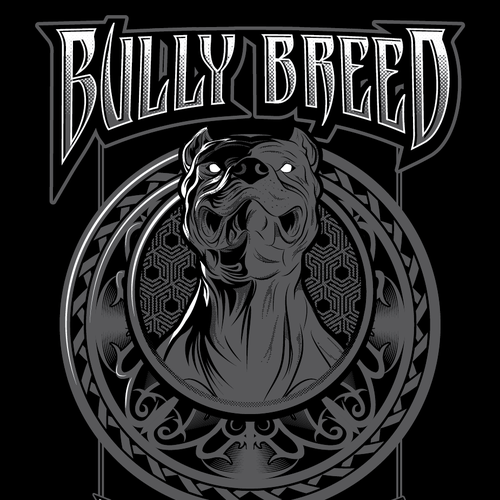 Kickass t-shirt with the title 'Bully Breed'