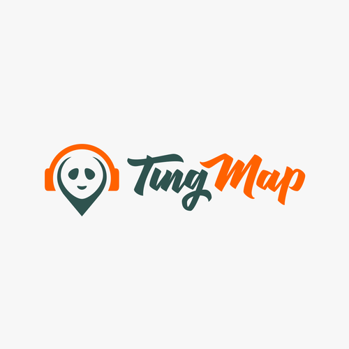 Pet brand with the title 'Tingmap Logo (proposal)'