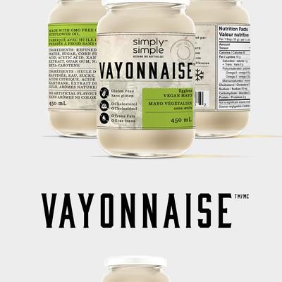 Vayonnaise a Vegan Mayonnaise