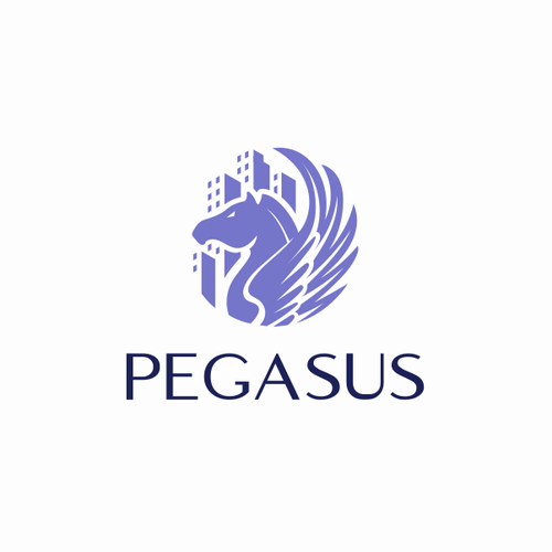 Wing logo with the title 'Pegasus'