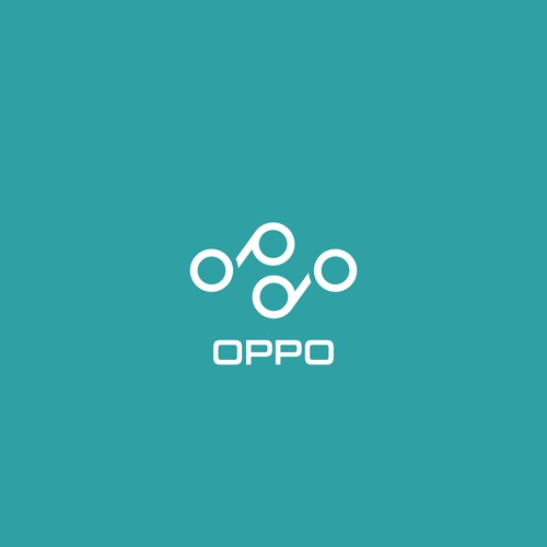 O logo with the title 'Oppo'