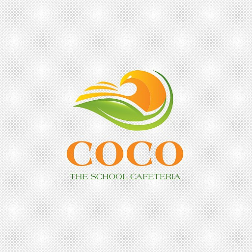 Sunshine logo with the title 'COCO The School Cafeteria'