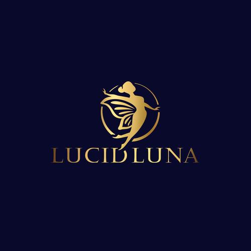 Lunar design with the title 'Logo for Lucid Luna'