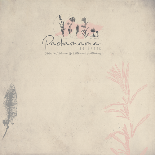 Sketch logo with the title 'Pachamama'