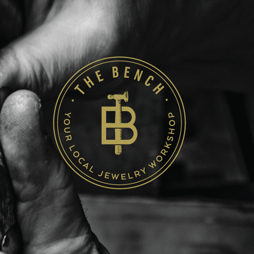 Tool design with the title 'Craft a new logo for a traditional jewellery workshop - The Bench'