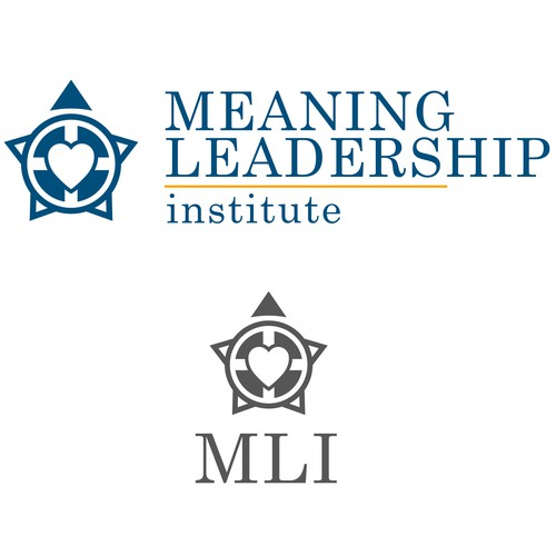International brand with the title 'Meaning Leadership Institute Logo'