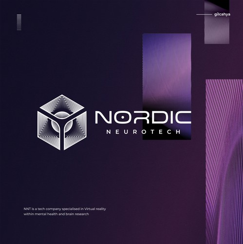 Geometric brand with the title 'Nordic Neurotech'