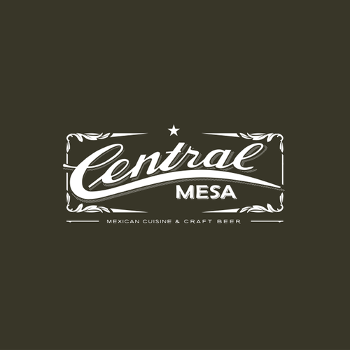 Mexican restaurant logo with the title 'Design a vintage/rustic logo for Central Mesa'