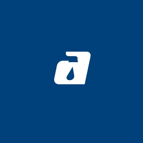 Water drop design with the title 'Alexander Plumbing'