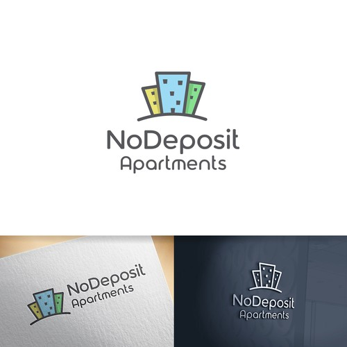 Desk logo with the title 'NoDeposit Apartments'