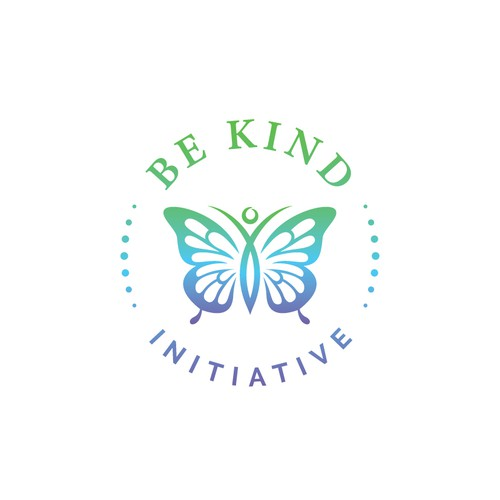 Charity logo with the title 'BE KIND INITIATIVE'