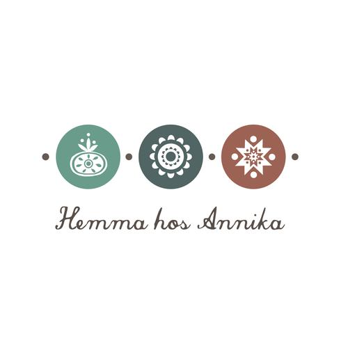 Scandinavian logo with the title 'Create a logo for Hemma hos Annika! :)'